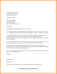 Personal Letter Format Letter Format Business To Business New