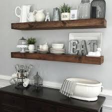 shanty2chic dining room floating shelves by @myneutralnest.