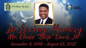 "Remembering Elease ""Skip"" Davis, Jr.   Remembering Elease ""Skip ..."