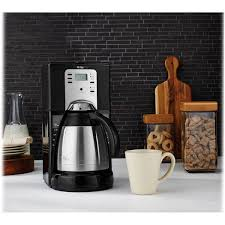 Shop for mr coffee thermal carafe online at target. Mr Coffee 10 Cup Programmable Coffeemaker With Thermal Carafe Overstock 4300886