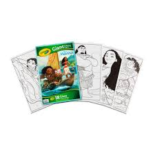 Official disney / pixar © coloring page : Crayola Giant Coloring Pages Featuring Disney S Moana Walmart Com Walmart Com