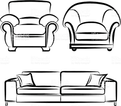 couch drawing. Dazzling Sofa Chair Clip Art 39 Pencil And In Color Edit Free Download Transparent Modern Png Picture Couch Drawing