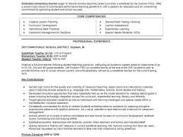 Example Resumes For Jobs Resume Template Example For Teachers Shocking Sample Teacher Job 48