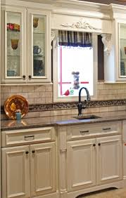 white distressed kitchen cabinets naperville il