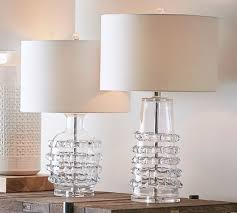 jamie young ribbon glass tall small lamp