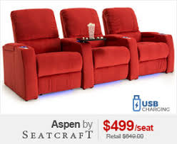 movie theater chairs for home. seatcraft monaco home theater seating · aspen media room chairs movie for i