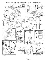 Nice exploded view of briggs and stratton engine images