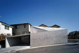 Modern Concrete House Built On A Budget And Featuring An Irregular ...