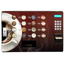 Vending Machine Credit Card Processing Cool Seaga SS48 KCup Vending Machine With Credit Card Reader Cashless