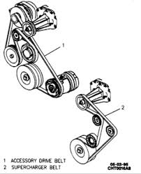 solved how to remove motor from 1999 buick park avenue fixya belt route for super charger for 98 buick park avenue 3 8
