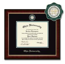 ohio university bobcat depot diploma frame medallion diploma frame medallion
