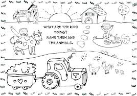 Great Coloring Pages Of A Farm W5513 Coloring Pages Of A Farm Farm