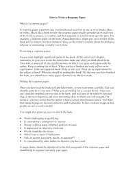 response essay example school is cool historical song essay write a response essay best writing website
