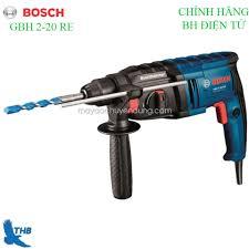 Máy khoan bê tông, máy khoan Búa, Máy khoan tường, Máy khoan đa năng Máy  khoan Bosch chính hãng GBH 2-20 RE ( Công suất 600W Bảo hành điện tử 6T xuất