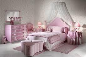 Girls Bedroom Artistic Pink Red Bedroom Decoration Using White - Girls bedroom decor ideas