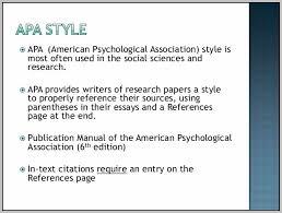 American Psychology Association Format American Psychological Association Format Template Resume