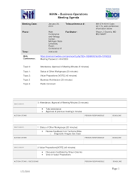 Agenda Format Example : Mughals Effective Meeting Template Image For ...