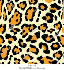 vector ilration of leopard print seamless pattern wild texture for design website background