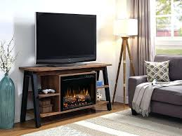 dimplex fireplace tv stand electric fireplace stand in tan walnut tap to expand