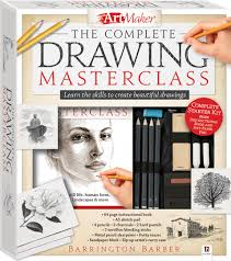 book cover page maker art maker the complete drawing masterclass kit gift sets