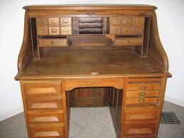 furniture gorgeous rolltop computer desk history with old wood small roll top antique oak cherry small
