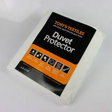 Duvet Protector | eBay & WATERPROOF DUVET QUILT PROTECTOR COVER ANTI ALLERGY SINGLE DOUBLE KING NEW Adamdwight.com