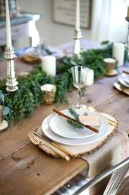 Glam Rustic Table Setting Simple Christmas Settings Easy Ideas Digiconnect Adorable Simple Table Decorations Ideas Christmas Settings