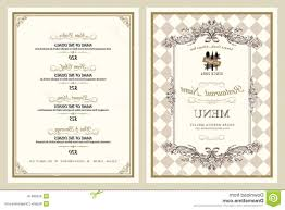 Fancy Restaurant Menu Hd Fancy Restaurant Menu Designs Vector Cdr Free Vector