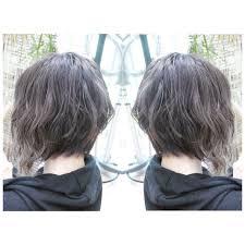 可愛いグラデーションボブのヘアスタイル20選前下がりショート黒髪