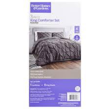 better homes gardens full or queen pintuck comforter set 3 piece com