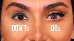 eye makeup tips for big eyes