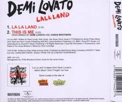 la la land demi lovato album cover. Interesting Cover With La Land Demi Lovato Album Cover