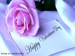 cute happy valentines day wallpaper. Cute Pink Rose Valentines Day Wishes Images And Happy Wallpaper