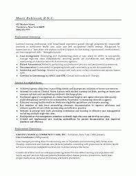 Nurse Resume Format Sample Best of Nurse Resume Format Nurse Sample Resume Careerdirections Marie