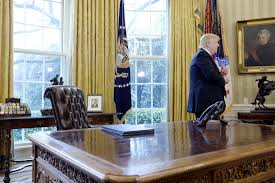 Nixon oval office Desk President Donald Trump In The Oval Office March 31 2017 Bunk History Trump To Display Letter From Nixon In Oval Office Report Bunk