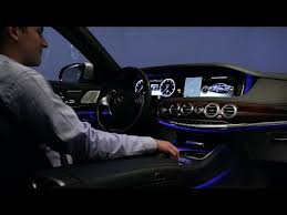 new mercedes interior lighting. mercedes-benz s-class - ambient light new / neu mercedes interior lighting b