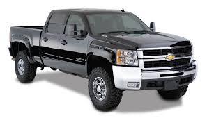 Truck chevy 2007 truck : Bushwacker Pocket Style Fender Flares - 2007-2013 Chevy Silverado ...