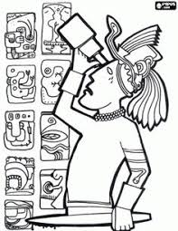 Small Picture Mayan Gods Coloring Pages Coloring Coloring Coloring Pages