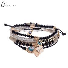 2017 <b>New Fashion Bohemian Style</b> Couple Bracelet Set 5Pcs/Lot ...