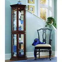 pulaski curio cabinet. Exellent Cabinet Product Image Pulaski Curios Display Cabinet In Rich Brown In Curio