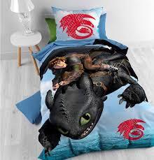 disney how to train your dragon duvet cover set for kids multicoloured single 3ft