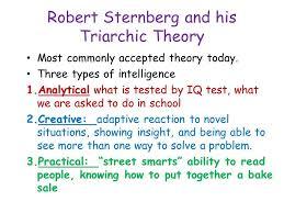 Sternberg Intelligence Robert Sternbergs Triarchic Theory Of Intelligence