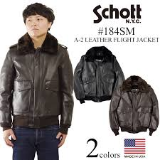 shot schott 184sm a 2 leather flight jacket with the er jacket fur made