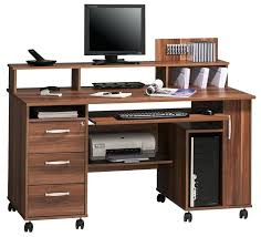 computer desk with wheels mobile office walnut computer workstation from a selection of office desks with computer desk with wheels