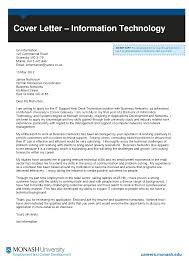 Information Technology Cover Letter Information Technology Cover Letter Isolutionme 7