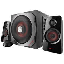 <b>Trust</b> 19024 <b>GXT 38 2.1</b> Subwoofer Speaker Set UK | Rapid Online