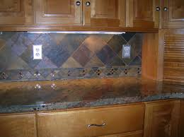 slate tile for kitchen backsplash size