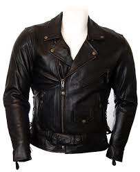 vintage black brando jacket