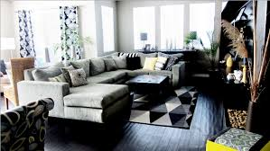 Neutral Color Living Rooms Cole Barnett Neutral Black And White Living Room With Pops Of