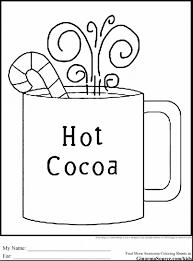 Articles with Hot Chocolate Mug Coloring Sheet Tag: hot chocolate ...